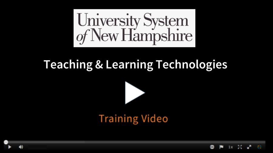 Teaching Evaluations Training video
