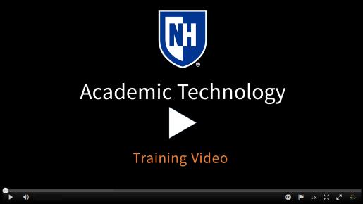 Teaching evaluation Training video
