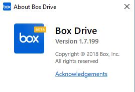 Box Drive Version 1.7.199