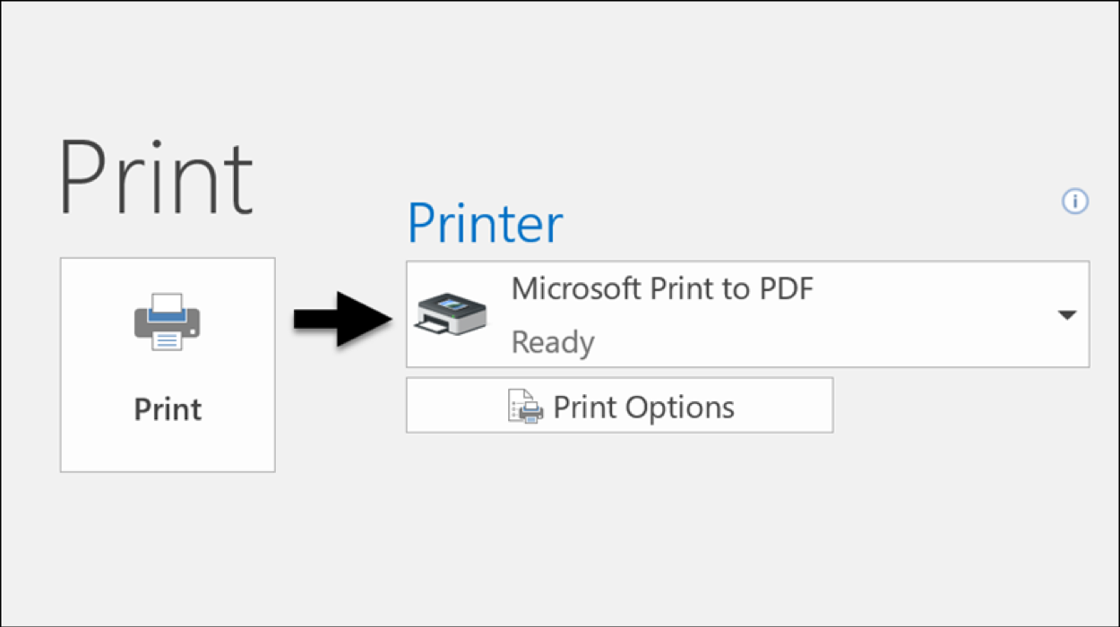 Turn Email to PDF