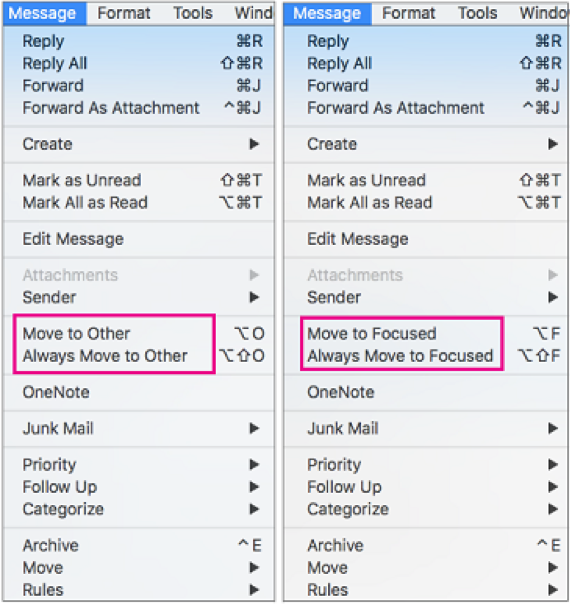 Change how your messages get organized Mac