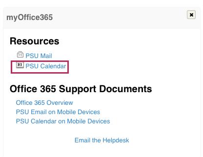 myOffice365_Cal