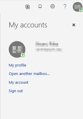 Open another mailbox...