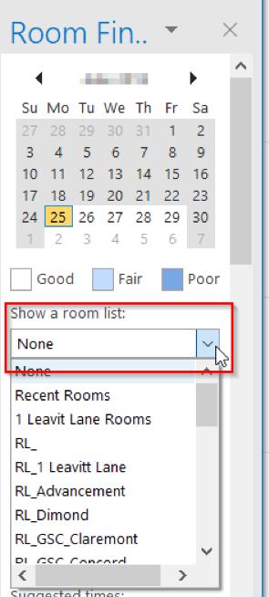 Room Finder